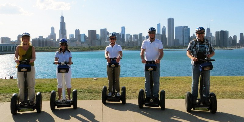 Segway Glide from Navy Pier