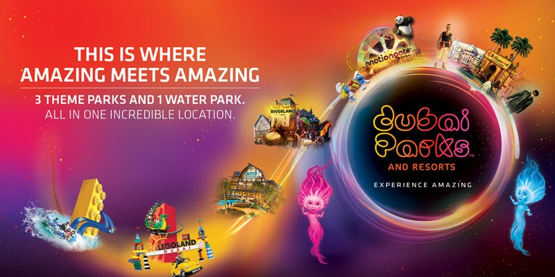 1 Dia 2 Parks Hopper em Dubai Parks and Resorts