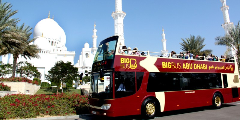 Hop-on/Hop-off-Bustour durch Abu Dhabi: 1-Tagesticket