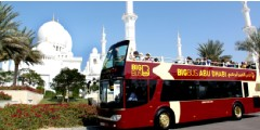 Visite d'Abu Dhabi en bus Hop-On Hop-Off par Big Bus - Ticket valable 1 journée