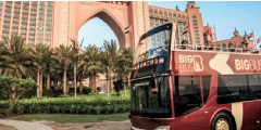 Visite de Dubaï en bus Hop-On Hop-Off par Big Bus : ticket valable 1 journée