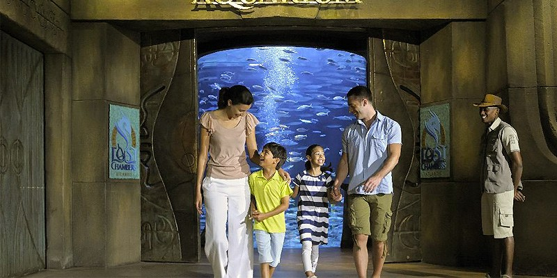 Lost Chambers Aquarium no Atlantis The Palm