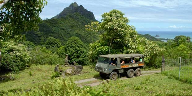 Jungle Tour em Kualoa Ranch