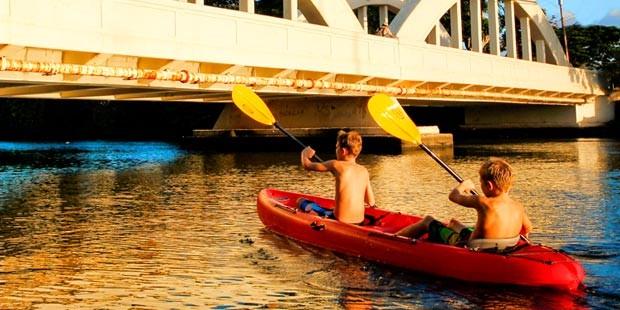 Oahu Kayaking with Hawaii Beach Time - NEW!