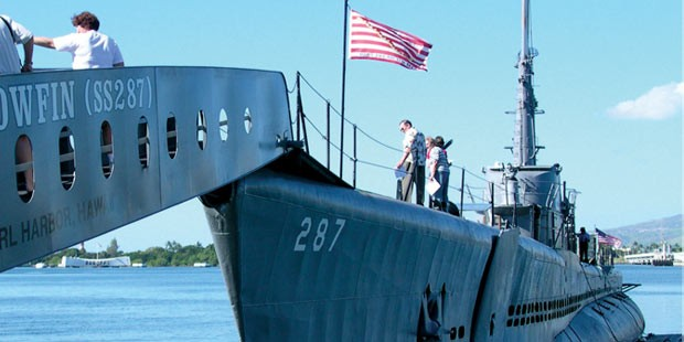 U-Boot USS Bowfin in Pearl Harbor