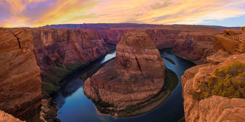 Horseshoe Bend & Glen Canyon Day Tour from Las Vegas (With optional Antelope Canyon Tour)