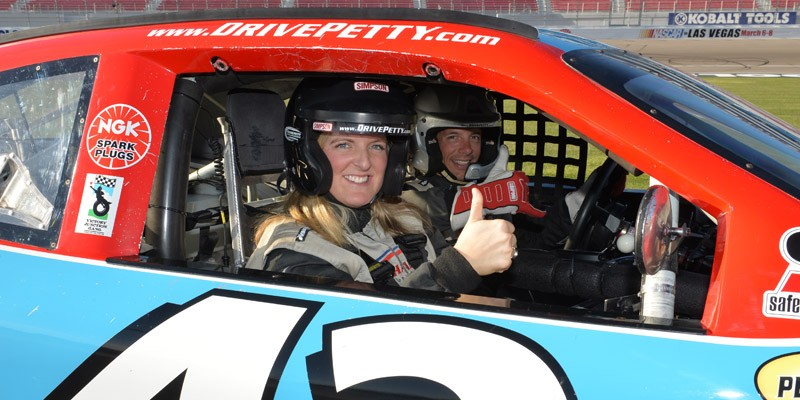 Richard Petty Driving Experience: Ride-Along