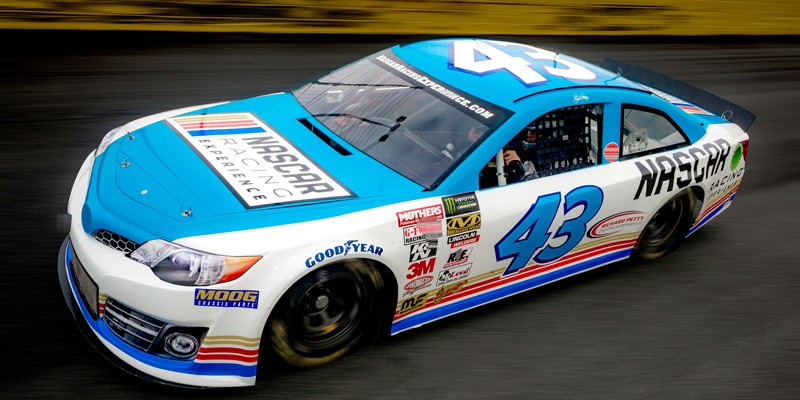 Richard Petty Driving Experience: Practice Ride