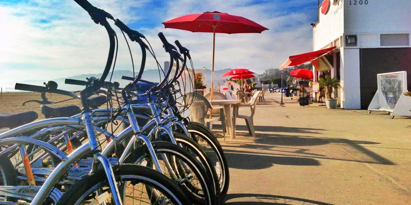 Perry's Beach Café and Rentals - Mountain Bike or Roller-Skates (All Day)