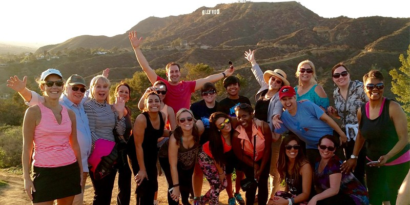 Hollywood Hills Hike by Bikes & Hikes LA
