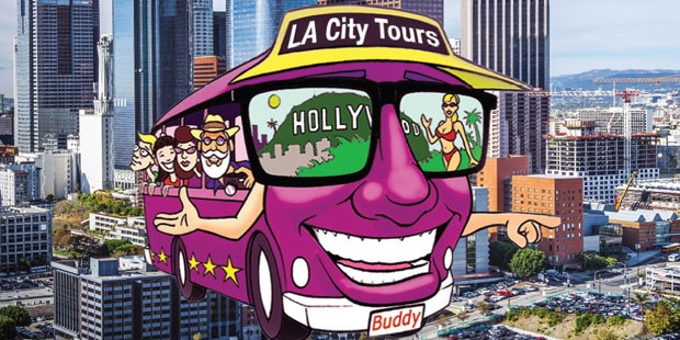 Hollywood Movie Star Homes Tour di LA City Tours