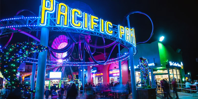 Pacific Park no Santa Monica Pier