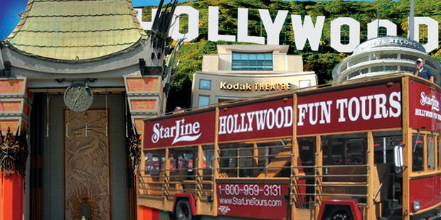 1-stündige Trolleytour durch Hollywood