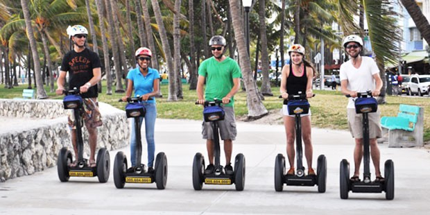 Bike and Roll: passeio de segway Art Deco em Miami