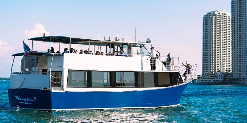 Crociera Biscayne Bay Sightseeing Boat