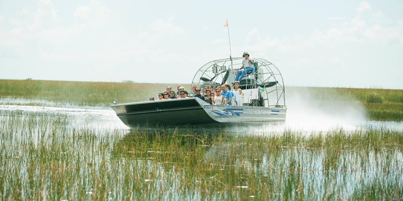 Sawgrass Recreation Park Everglades Airboat Adventures