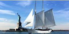 Clipper City Tall Ship: Daytime Statue Sail