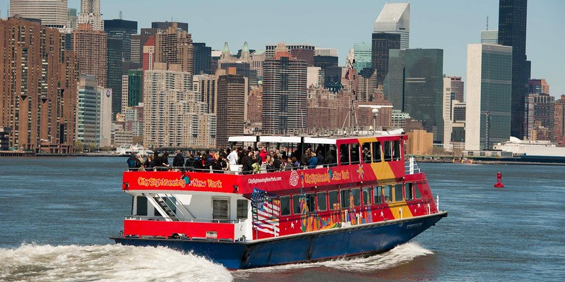 Hop-on/off Sightseeing Ferry by CitySightseeing