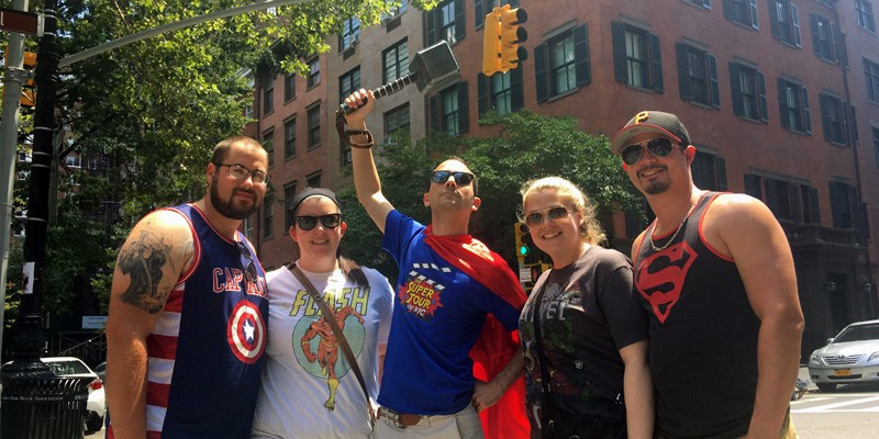 The Super Tour of NYC: Heroes! Comics! More!