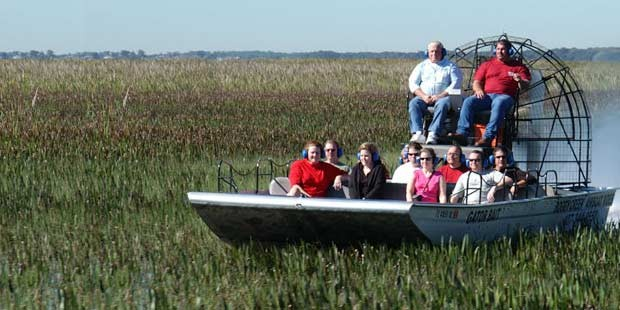 Boggy Creek Airboat-Tour