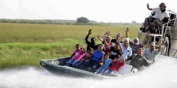 Miami & Everglades with Airboat Tour from Orlando