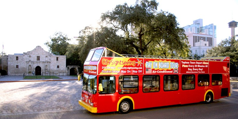 City Sightseeing Hop-On Hop-Off San Antonio Tour (24-Hour Ticket)