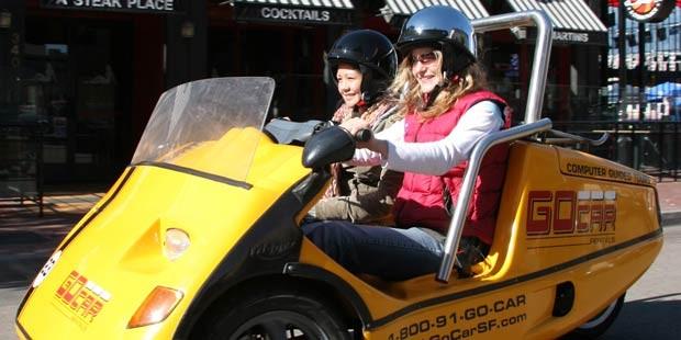 GoCar 圣地亚哥之旅: 2 小时导览之旅