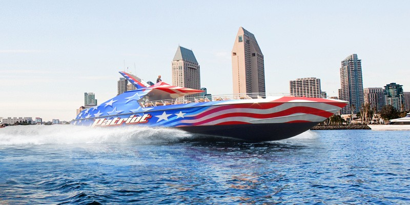 The Patriot Jet Boat