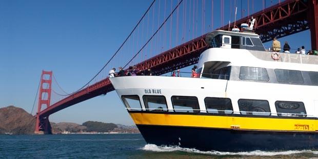 Angel Island with Roundtrip Ferry - Blue & Gold Fleet