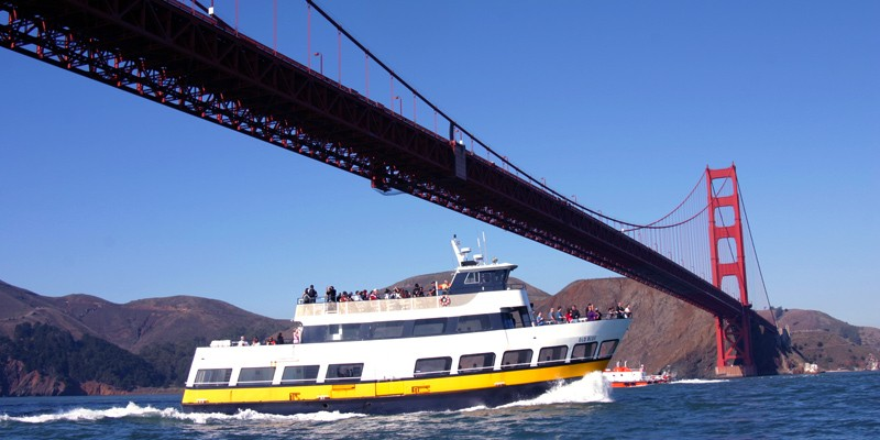 San Francisco Bay Cruise Adventure by Blue & Gold Fleet