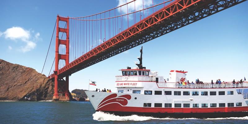 Golden Gate Bay Cruise - Red & White