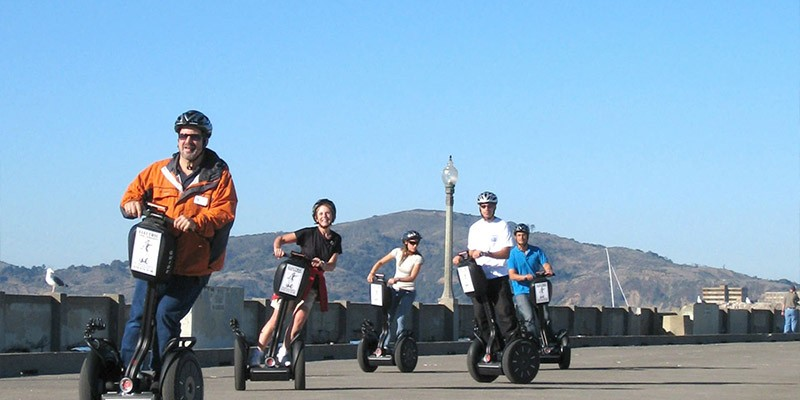 Wharf & Waterfront Segway Tour