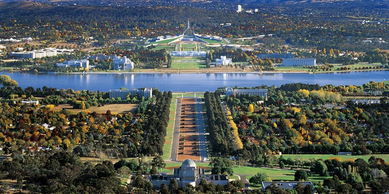 Canberra Australien Capital Tour