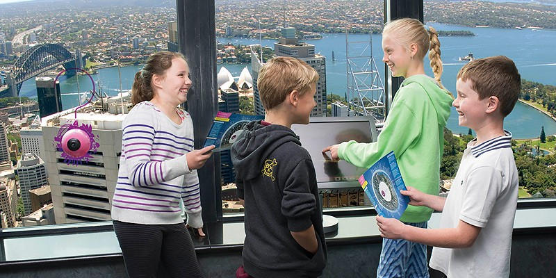 The Sydney Tower Eye with 4D Cinema Experience